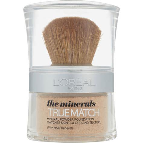 where to buy l shades l 39 oréal paris true match minerals foundation various