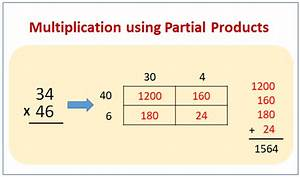Multiply Using Partial Products  Examples  Videos