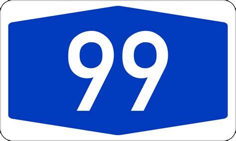 Bundesautobahn 99 Number.svg