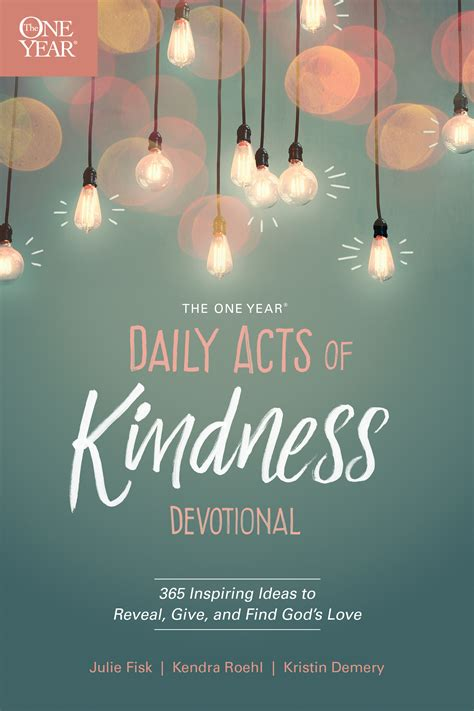 tyndale   year daily acts  kindness devotional