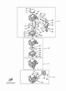 2000 Yamaha Carburetor 1 Parts For 100 Hp F100tlry