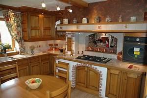 agencements d39interieur tous les fournisseurs With meuble de cuisine rustique 2 cuisine en bois bois clair meuble de cuisine en bois