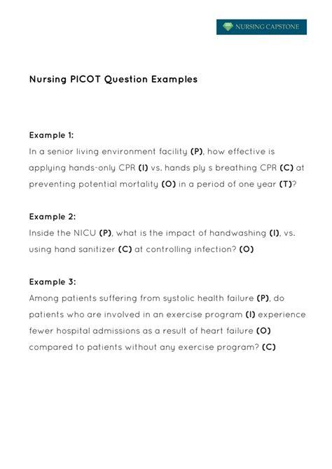 nursing research question ideas pico oral intubation museumlegs