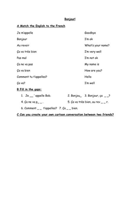 french  worksheet  everybodyeducating