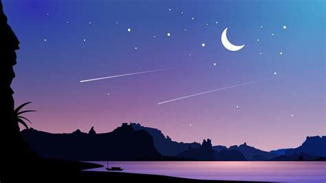bays nights aesthetic desktop wallpaper landscape