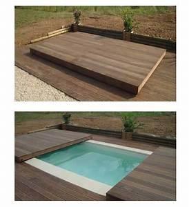 terrasse mobile pour piscine est elle faite pour vous With piscine sous terrasse amovible