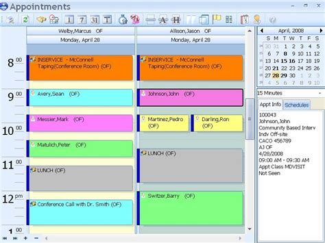 appointment schedule accumed appointment scheduler