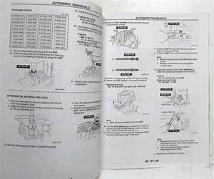 1997 Mazda Automatic Transaxle Gf4a