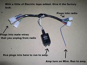Factory Radio Amp Amplifier Interface Install Adapter