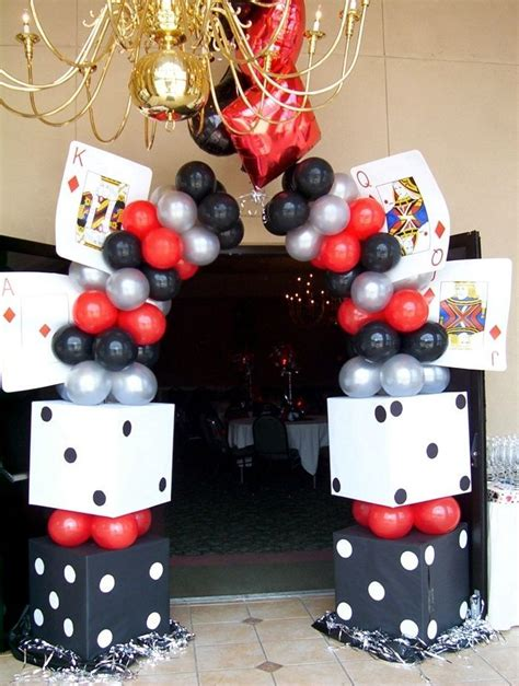 Casino Theme Party  Entrance  Happy 50 Birthday