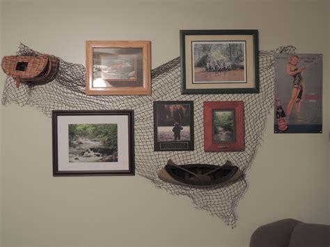 Fly Fishing Theme Wall Decor. Using Fishing Net From Joe's
