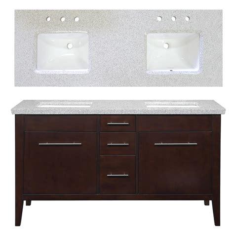 60 bathroom vanity double sink lowes enlarged image
