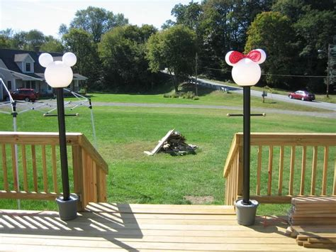 mickey mouse outdoor l post 143 best disney