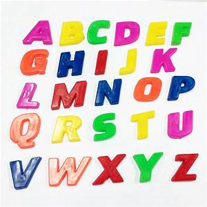 1 set letters numbers magnetic fridge children kids With 1 magnetic letters