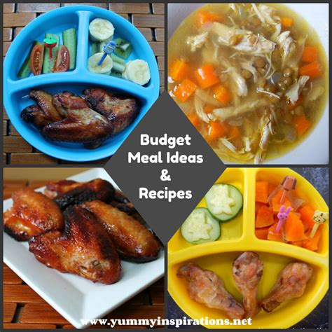 meals ideas budget meals planning guide