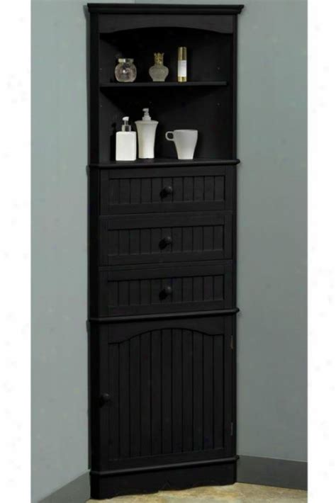 corner linen cabinet for bathroom one door corner cloth of flax cabinet for the home