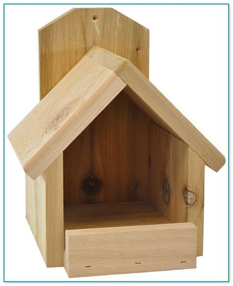 cardinal birdhouse plans