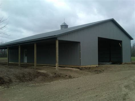 Average Cost Of A Pole Barn by Pole Barns Lima Ohio Stahl Mowery Construction