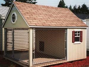 25 melhores ideias de casas de cachorro no pinterest for Biggest dog kennel