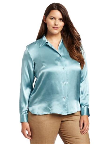 silk charmeuse blouse pendleton 39 s plus size silk charmeuse blouse
