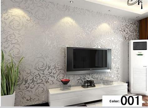 modern  background vinyl wallpaper  living room gold