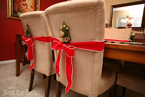 pinterest project parson chair covers for christmas how