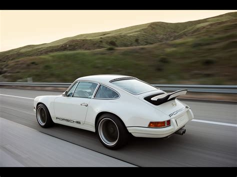 singer porsche wallpaper 1920x1440 white singer porsche 911 side road desktop pc