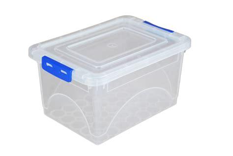 Box Clip 2 Litre Plastic Storage Boxes With Clip On Lids