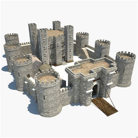 complete house plans castle