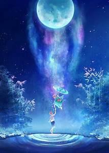 蓝色qq皮肤背景图片大全唯美 思念汇集成雨无止境的是想念_腾牛个性网