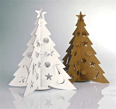 15 alternative christmas tree design ideas recycling paper