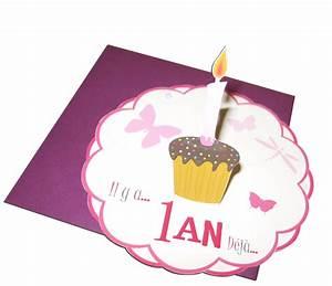 1 An Anniversaire : faire part anniversaire bebe 1 an gosupsneek ~ Farleysfitness.com Idées de Décoration
