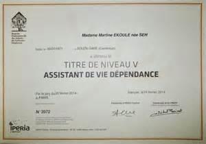 Assistant De Vie Dépendance by Rebondir Formation Remise Des Certificats 171 Assistant De