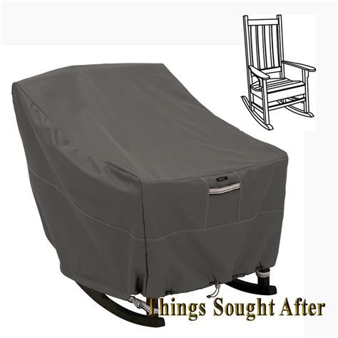 cover  rocking chair patio furniture outdoor storage