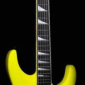 Jackson USA Custom Shop Select SL1 Soloist Neon Yellow