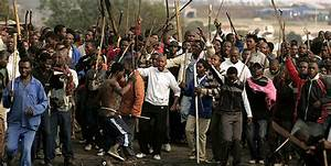South Africa: Anti-immigrant protests erupt in Pretoria ...
