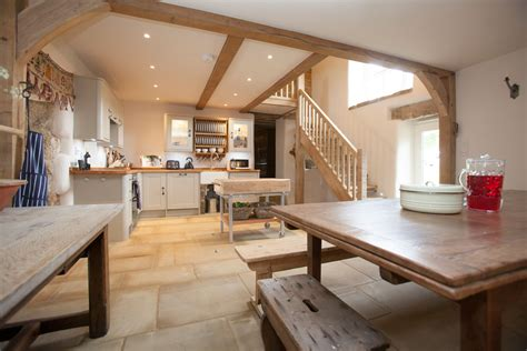 family friendly north yorkshire farmhouse kitchen crag