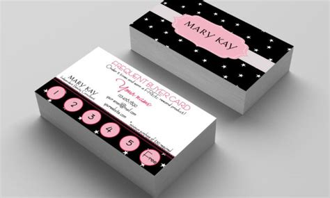 frequent buyer card mary kay stars mary kay party
