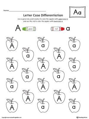 alphabet letter identification printables letter a puzzle printable myteachingstation 68748
