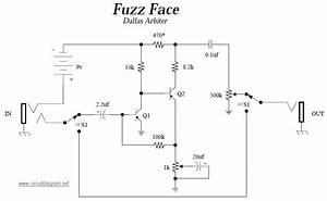 Fuzz Face  Guitar Effects Pedals Schematics