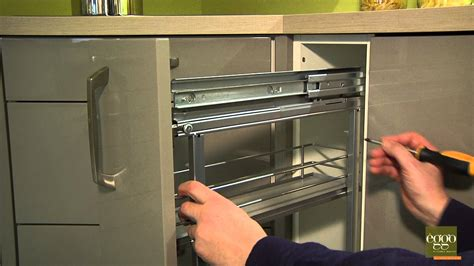 la cuisine des epices eggo régler la profondeur de la porte de meuble à