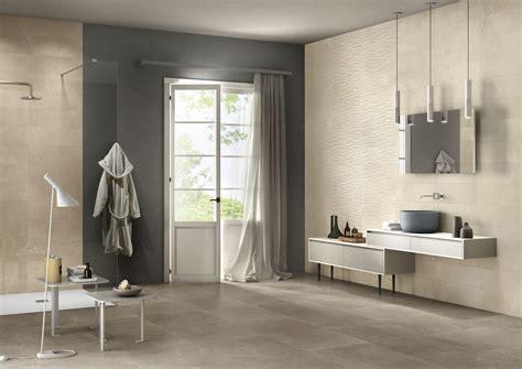carrelage de salle de bain ton et motif vague prisme composition 1 porto venere