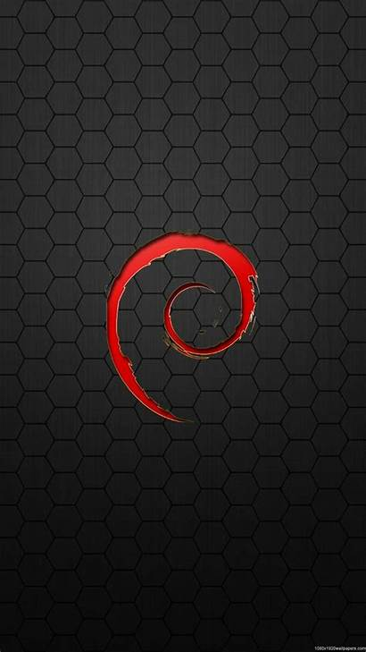 Wallpapers Iphone Linux Hex Debian Background Mobile