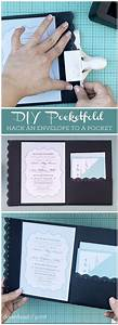how to hack an envelope into a pocket invitation such a With wedding invitation envelope decorations