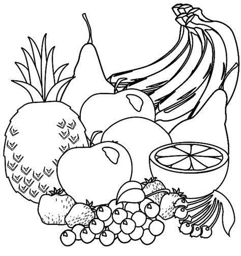 Fruit Kleurplaten Printen by Kleurplaat Fruit Kleurplaat Fruit Kleurplaten Eten En