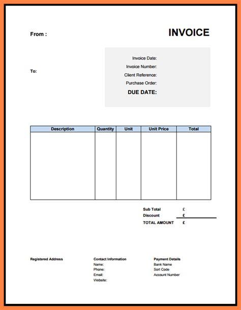 limited company invoice template company letterhead