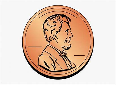 Clipart Cent Penny Cents Clipground Clipartkey
