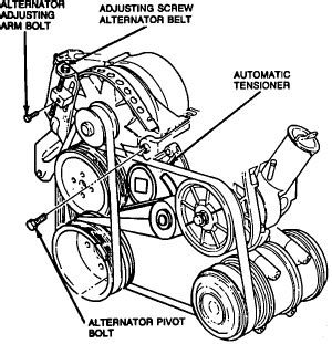 2000 Ford Tauru Waterpump Diagram by Re 1992 Ford Taurus 3 0 Trying To Change Water How