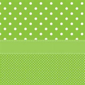 Polka Dots Green Background Free Stock Photo - Public ...