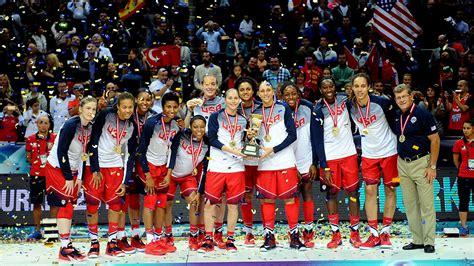 maya moore  women win gold  world championship